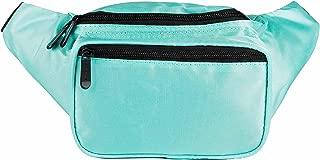 SoJourner Teal Fanny Pack - Festival Packs for men, women | Cute Waist Bag Fashion Belt Bags