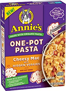 Annie's Homegrown Organic Cheesy Mac One-Pot Pasta with Hidden Veggies, 204g
