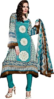 COTTON JACQUARD SUIT WITH DUPPATTA - 6312A