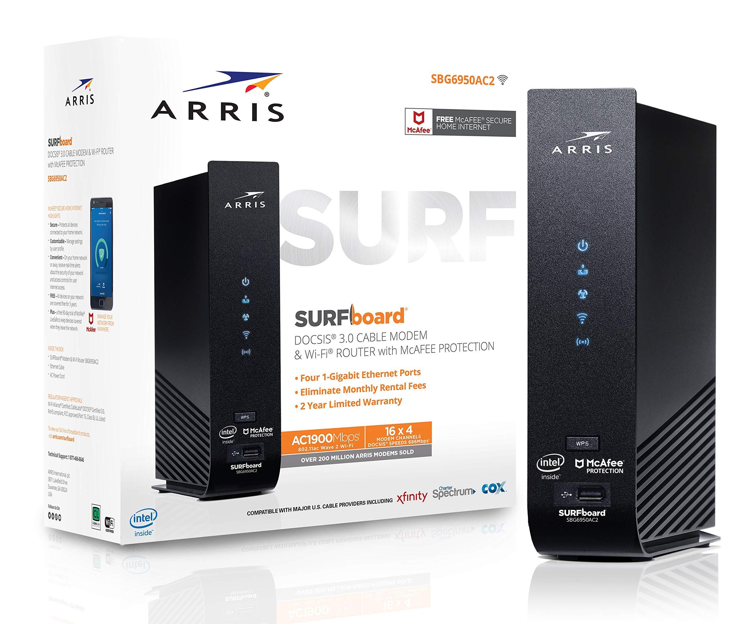 ARRIS SURFboard Certified Spectrum SBG6950AC2