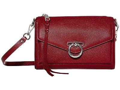 Rebecca Minkoff Jean Mac (Pinot Noir) Cross Body Handbags