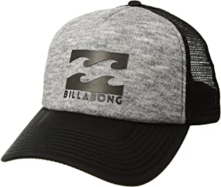 Billabong Men's Classic Trucker Hat, Grey Heather, ONE