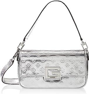 حقيبة طويلة تمر بالجسم للنساء من جيس، فضي - PM758019
