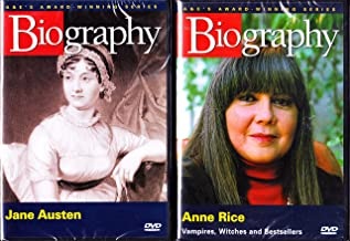 Jane Austen Biography , Anne Rice Biography : Famous Authors 2 Pack