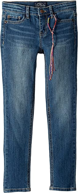 Zoe Five-Pocket Skinny Jeans in Ada Wash (Little Kids)