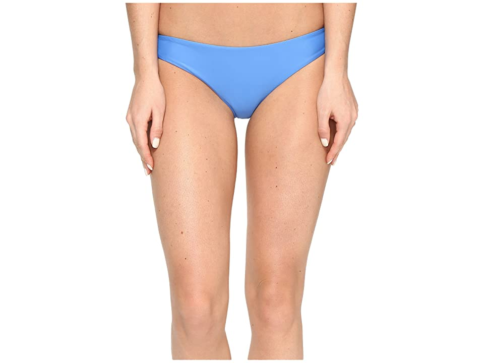 RVCA Solid Cheeky Bottom (Cerulean) Women