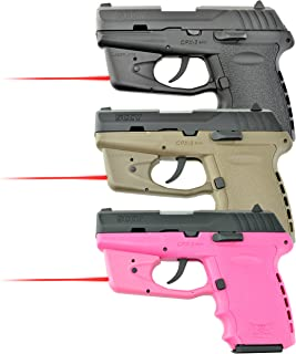 LASERLYTE Laser Sight Trainer for SCCY CPX 1 2 Black Tan Pink. LASER DOT for fast aim. LASER TRAINER for firearm training. PUSH BUTTON activation for simple use. AUTO-OFF to save battery life