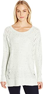 NYDJ Womens PYRN3362 Petite Size Sequin Tunic Sweater Pullover Sweater