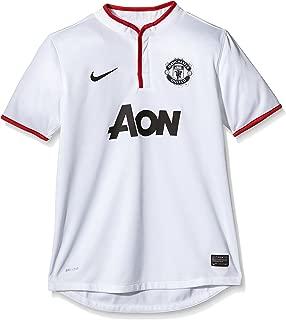 Nike 2012-13 Man Utd Away Football Soccer T-Shirt Jersey (Kids)