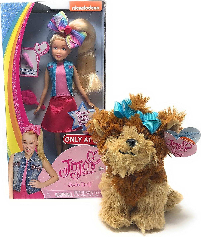 JoJo Siwa Puppe mit Plüschhundebündel