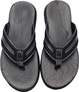 Men's Base Camp Flip Flop Sandals (7 D US, Black/Grey)