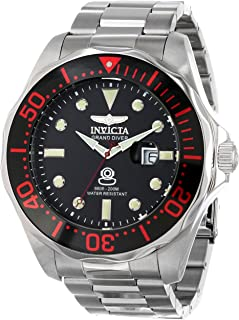 Invicta Men's INVICTA-14652 Pro Diver Analog Display Swiss Quartz Silver Watch