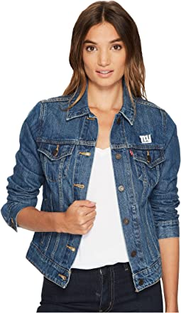Levi's® Womens NY Giants Sport Denim Trucker