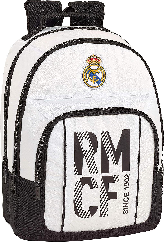 Real Madrid 2018 2018 2018 Schulrucksack, 42 cm, Weiß (Weiß) B07G38H9MH | Bevorzugtes Material  e3afe3