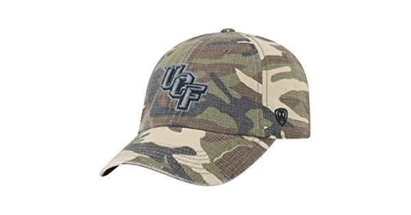 Top of the World Central Florida Knights Official NCAA Adjustable Heroes Woodland Camo Hat Cap 420141