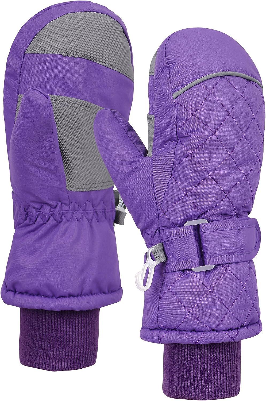 ANDORRA Waterproof Outlet SALE Ranking TOP14 Ski Mittens S Purple Gloves