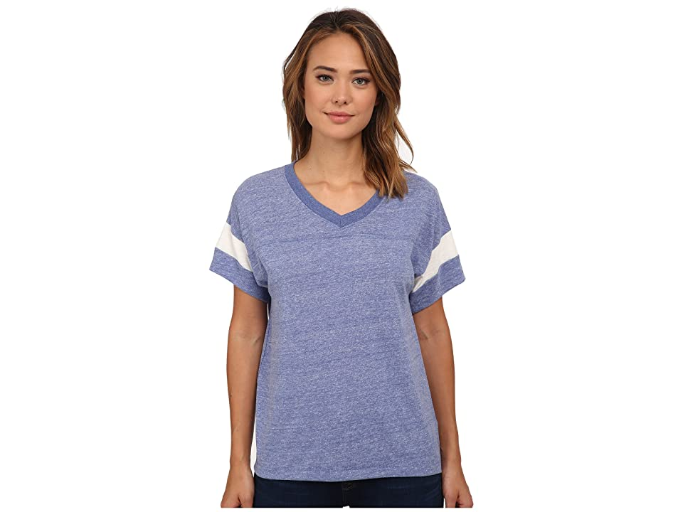 Alternative Powder Puff Tee (Eco Pacific Blue/Eco Ivory) Women