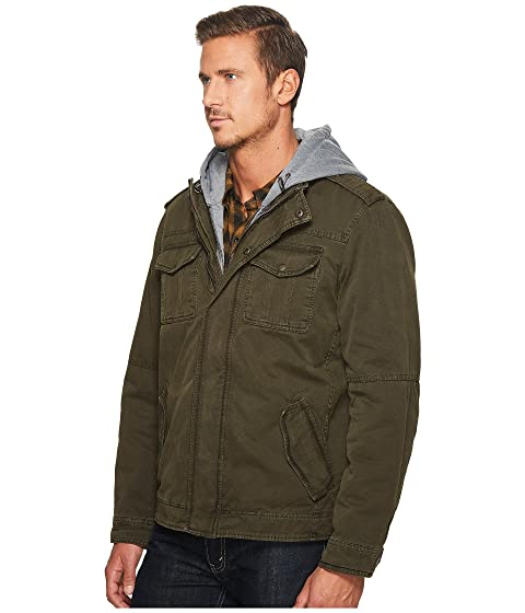 Bib with Jersey Out Lining Hood Two Zip and Levi's® Pocket Hoodie Sherpa fwg4gp