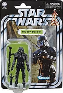 """Star Wars The Vintage Collection Shadow Trooper Toy, 3.75"""" Scale Action Figure, Toys for Kids Ages 4 & Up"""