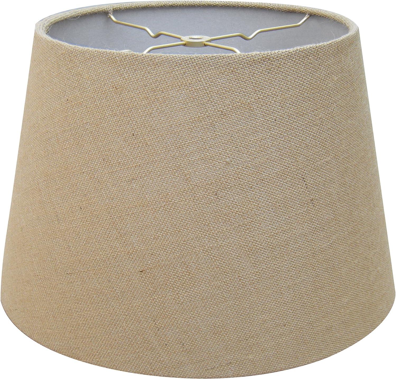 Royal Designs Austin Mall NEW before selling ☆ Empire Hardback Lamp Shade x 12 Burlap 10