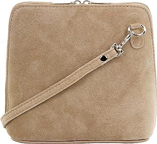 0974a84acd Primo Sacchi® cuir Suede italien petit/micro sac de carrosserie ou sac à  bandoulière