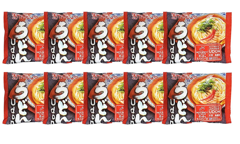 Myojo Udon Japanese Style unisex Noodles with Fla Spicy Base Hot Tulsa Mall Soup
