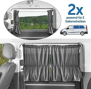 Zamboo - 2X Cortina Universal Protección Solar Furgonetas/