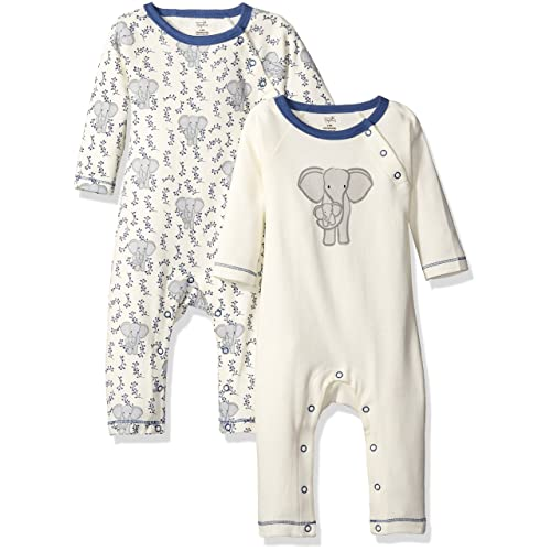 df5edccaa Touched by Nature Baby Organic Cotton Union Suit 2-Pack