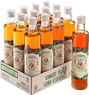 Maeloc Vinagre de sidra de manzana - 12 de 500 ml. (Total: 6000 ml.)