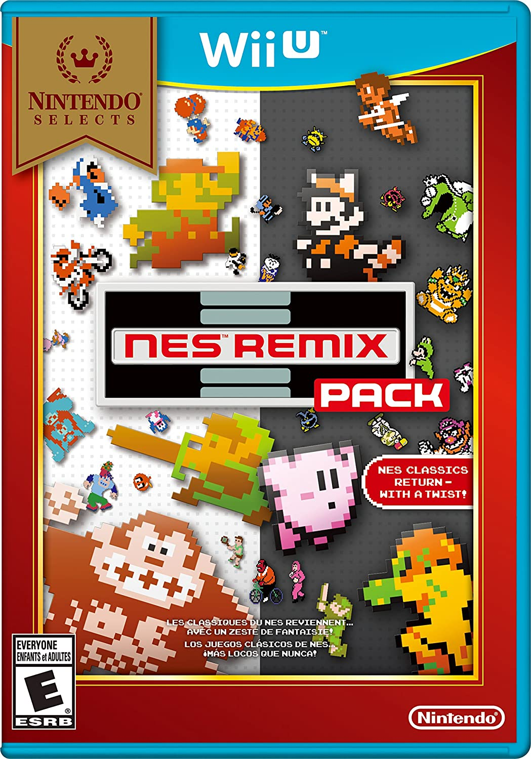 Nintendo Selects: 2021new shipping free shipping NES Remix Pack