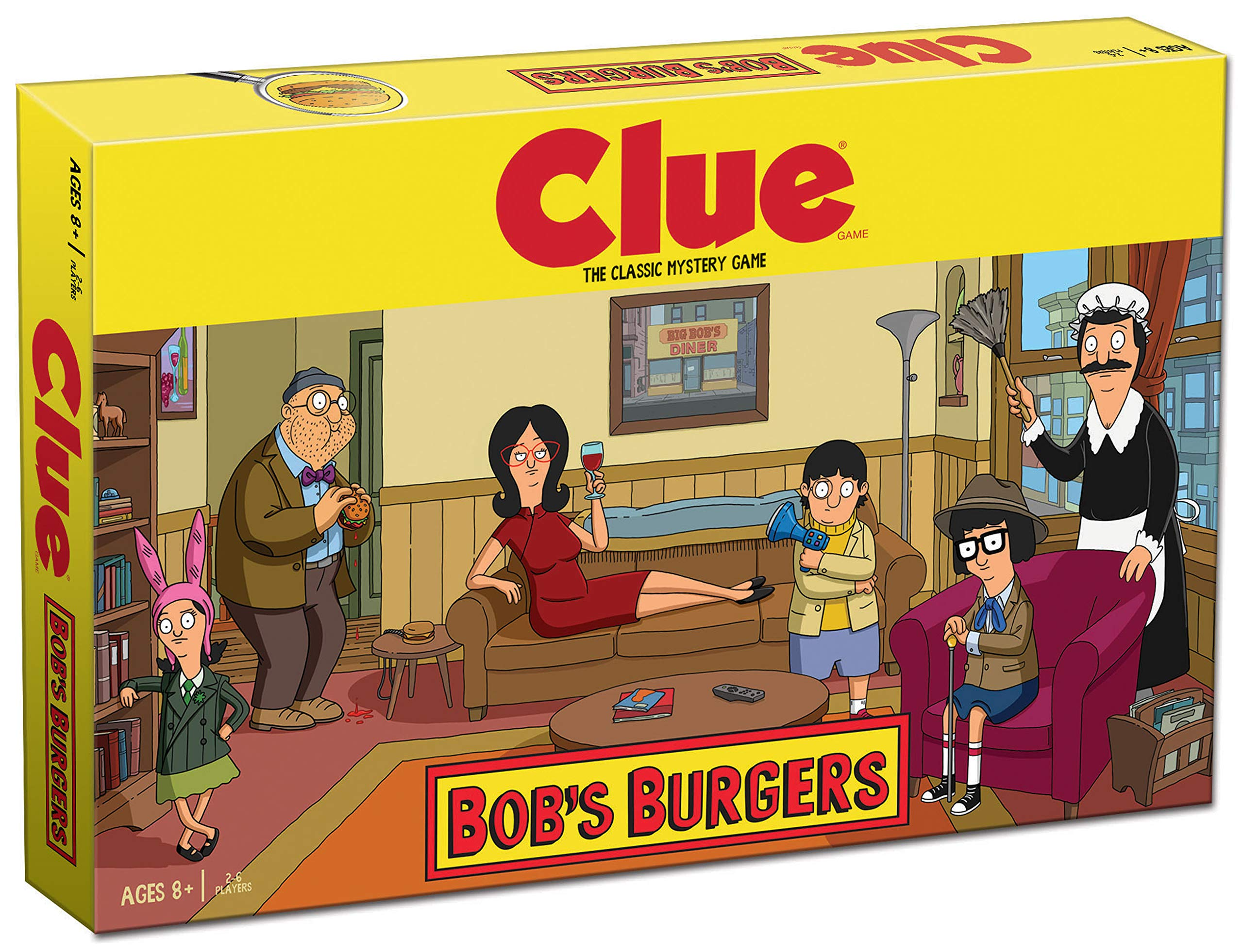 USAopoly Clue Bobs Burgers Edition Board Game: Amazon.es: Juguetes y juegos
