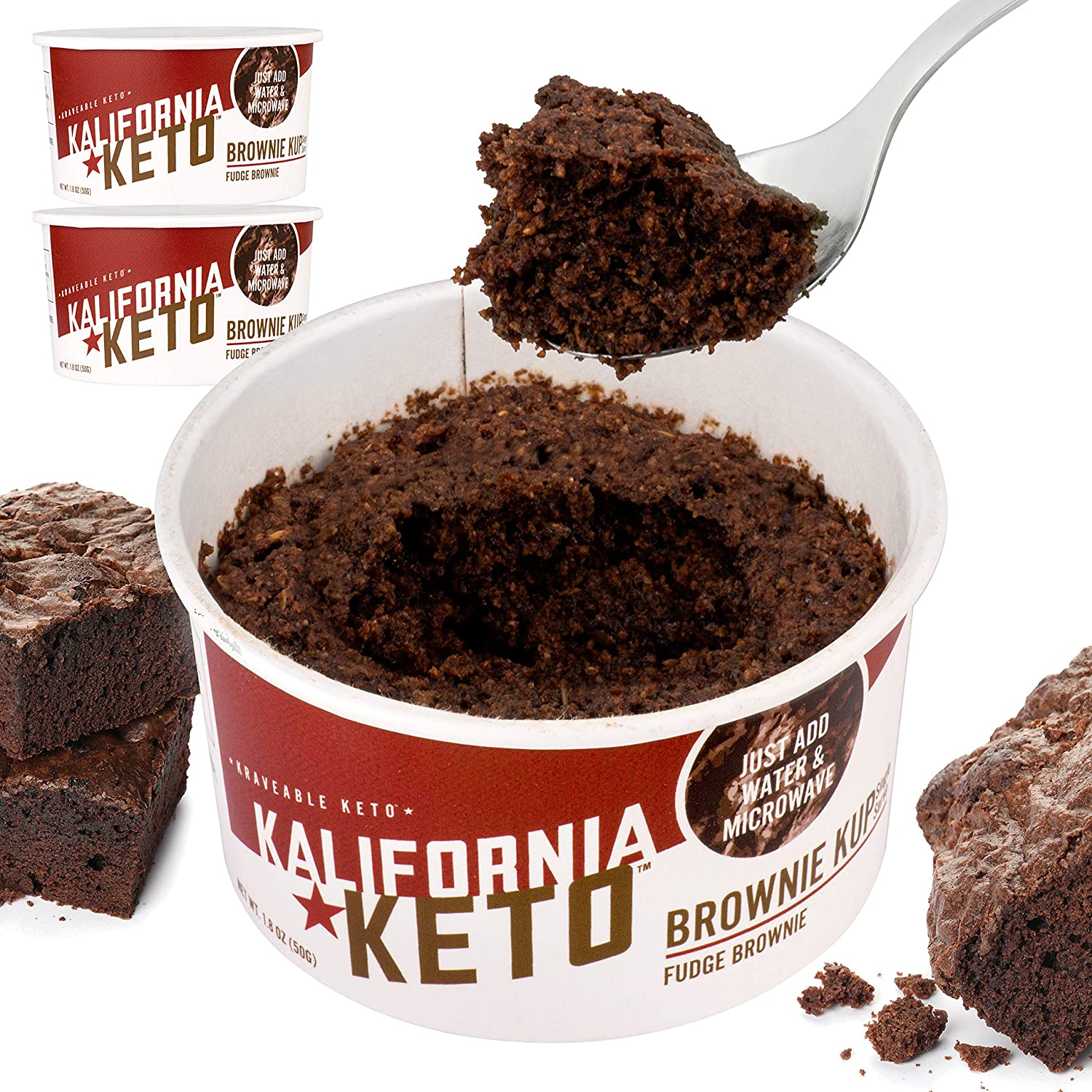 Kalifornia Spring new work one famous after another Keto Brownie Cup – Keto-friendly Carb Low and