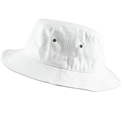 50b3d9c4839ca THE HAT DEPOT 100% Cotton Canvas Packable Summer Travel Bucket Hat