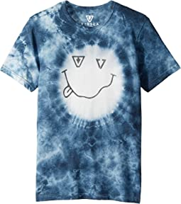 VISSLA Kids - Stoked Tie-Dye T-Shirt (Big Kids)
