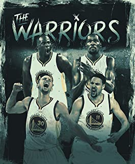 Golden State Warriors Basketball Champions Team Sports Poster Photo Limited Print Kevin Durant Steph Curry Klay Thompson Draymond Green Player Sexy Celebrity Athlete Size 8x10 #1