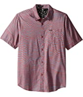 Volcom Kids - Vibe Daze Short Sleeve Woven Top (Big Kids)