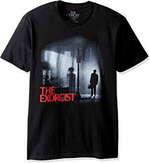 Goodie Two Sleeves Men's The Exorcist Night Watch Adult T-Shirt