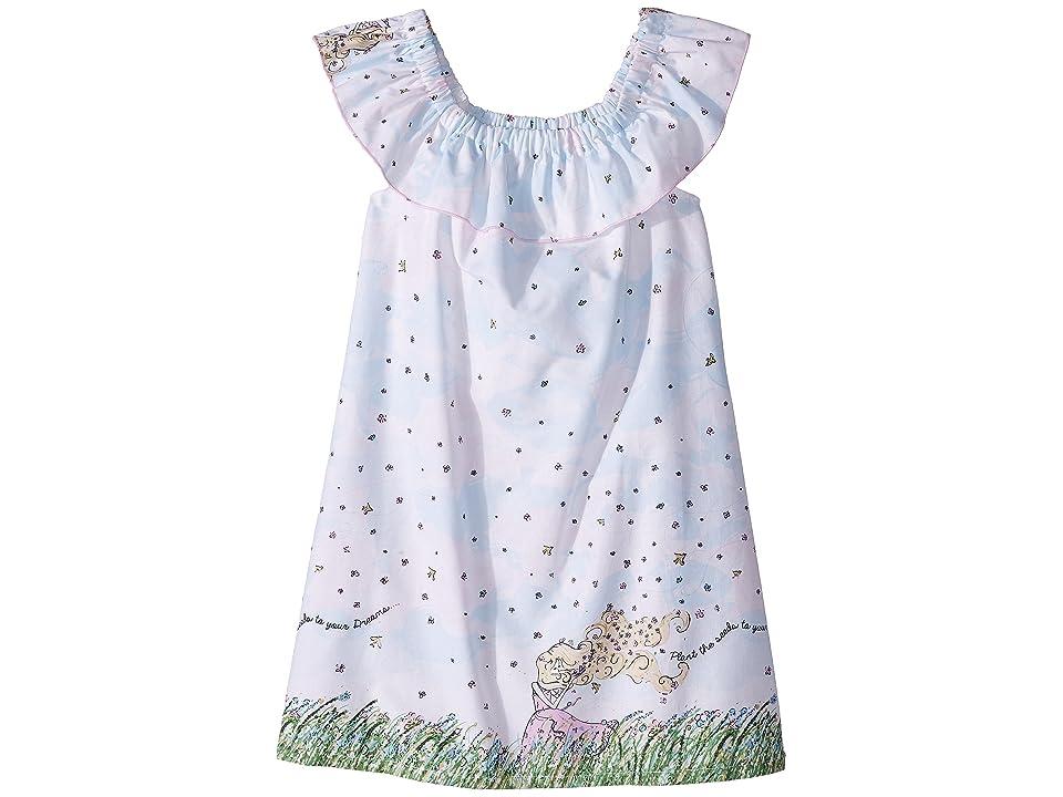 fiveloaves twofish Flower Girl On/Off Dress (Little Kids/Big Kids) (White) Girl