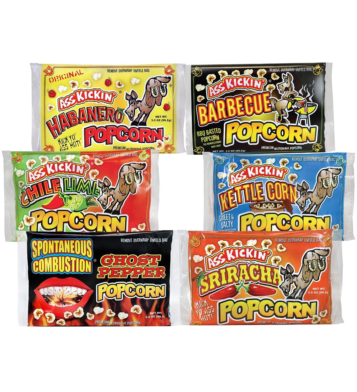 ASS Regular dealer KICKIN' Premium Microwave Popcorn Limited price – Gift P Variety