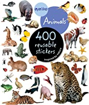 EyeLike Stickers: Animals: 400 reusable stickers inspired by nature