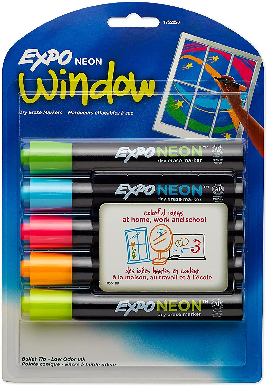 Dry Erase Tucson Mall Neon Markers Whiteboa Attention brand Bullet Tip