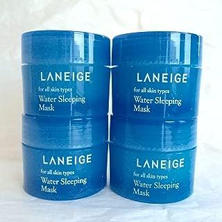 2015 New Version - Laneige Water Sleeping Mask 60ml (15ml X 4pcs)