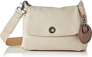 Mandarina Duck Damen Mellow Leather Damentasche, Off White, Einheitsgröße