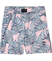 Swim Trunks Leaf Print (Infant/Toddler)