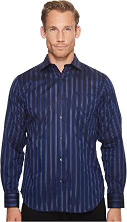 Long Sleeve Classic Fit Point Collar w/ Pocket
