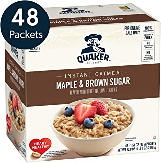 quaker blueberry muffin oatmeal nutrition
