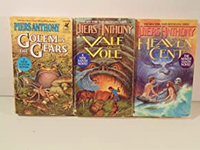 Piers Anthony New Xanth Novels - Heaven Cent, Vale of the Vole, Golem in the Gears