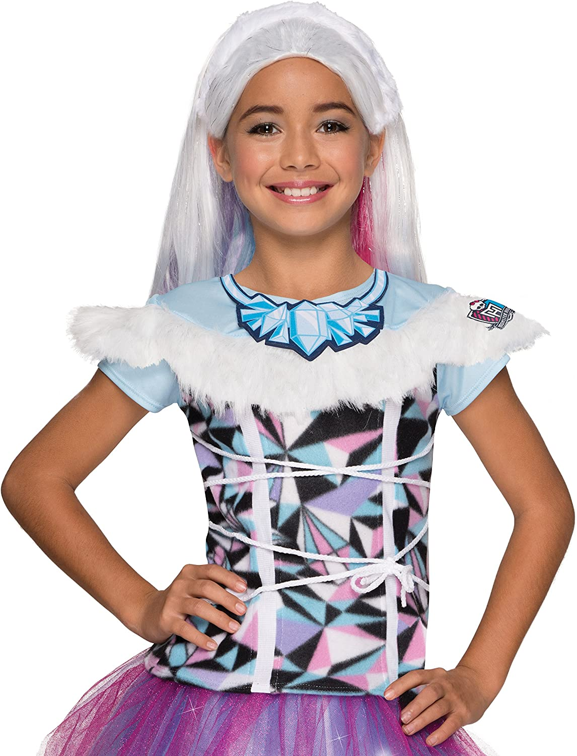 Rubies Costume Monster High Abbey Bominable Photo Real Costume Top Costume, Standard
