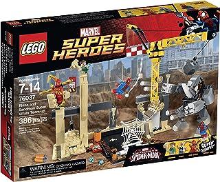 LEGO Super Heroes 76037 Rhino and Sandman Super Villain Team-Up Building Kit