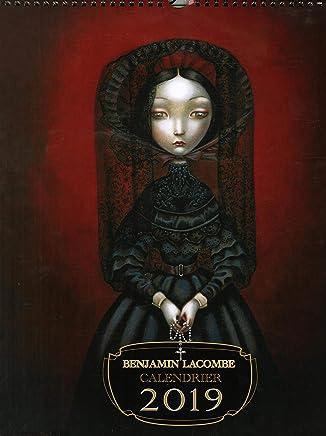 Benjamin Lacombe - Calendrier 2019: 9782302071896: Amazon ...
